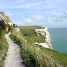 Walking Trail near Folkestone Chandos Premier Guest House Folkestone