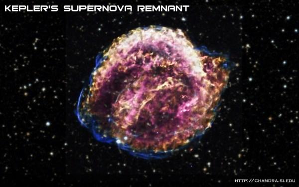 Chandra :: Photo Album :: Kepler's Supernova Remnant ...