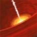 Animation of Black Hole in Elliptical Galaxy