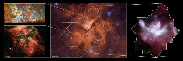 Chandra Photo Album Carina Nebula More Images of