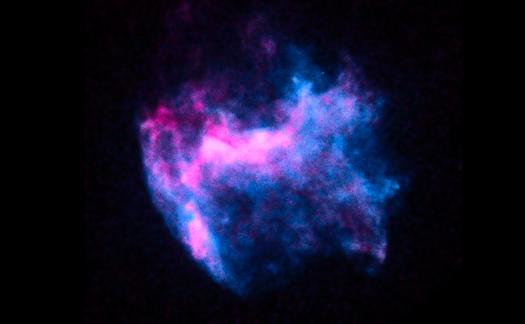 Fer dans le rémanent de supernova
