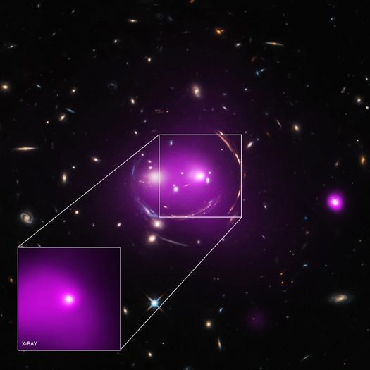 Gato de Cheshire grupo de galaxias