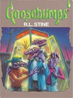 From the cover of Calling All Creeps, Goosebumps #50. Sent by swap-bot Sweets for the 12202012 swap.