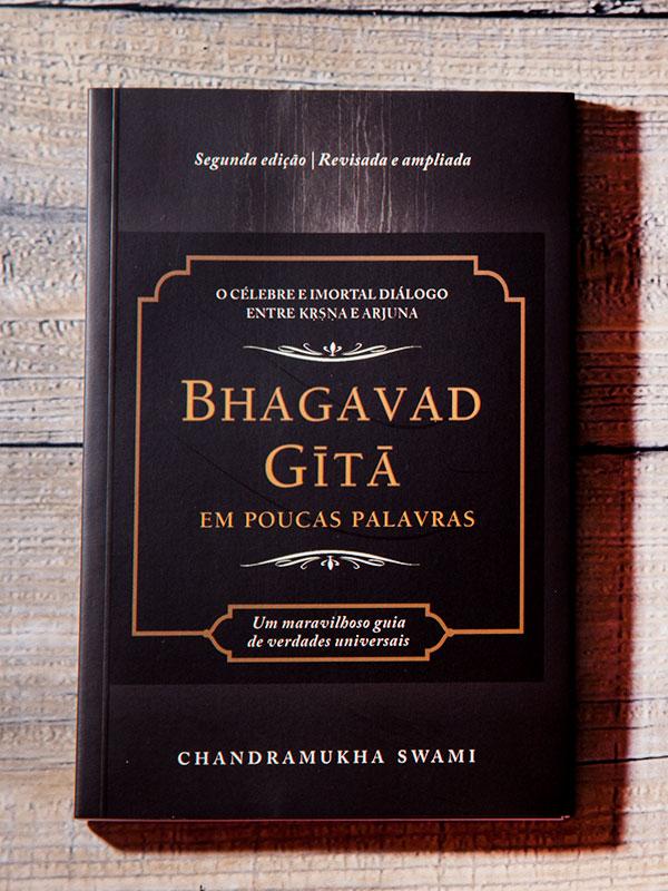 Livro Bhagavad-gita em Poucas Palavras