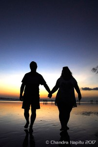 Romantic photo shoot Bali