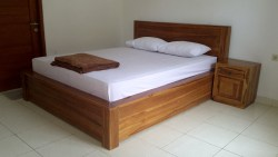 Double room with air conditioning at Mekar Sari Beach Inn
