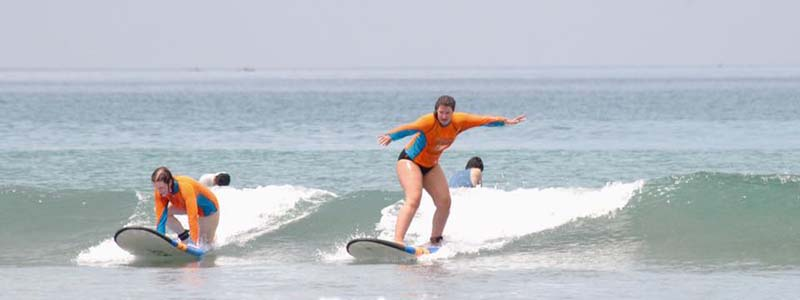 Learn to surf in Bali
