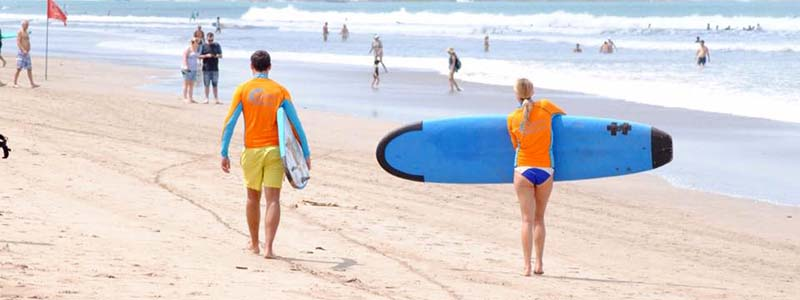 Surf board rental Bali