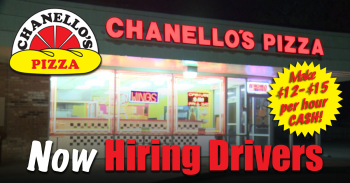 Chanellos Pizza is Hiring