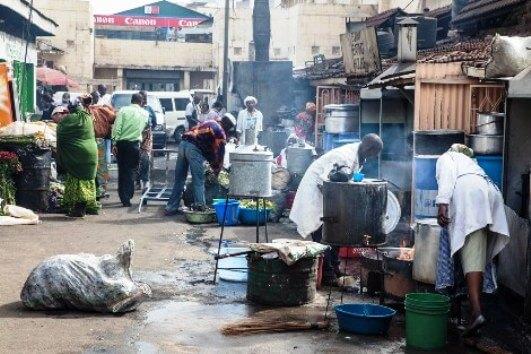 Image of Nairobi street food tour