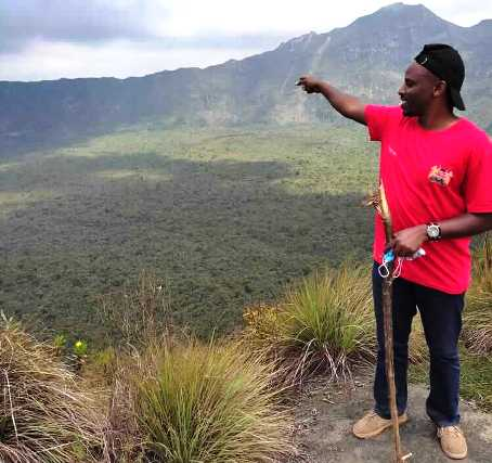 Image of Hiking mt longonot kenya