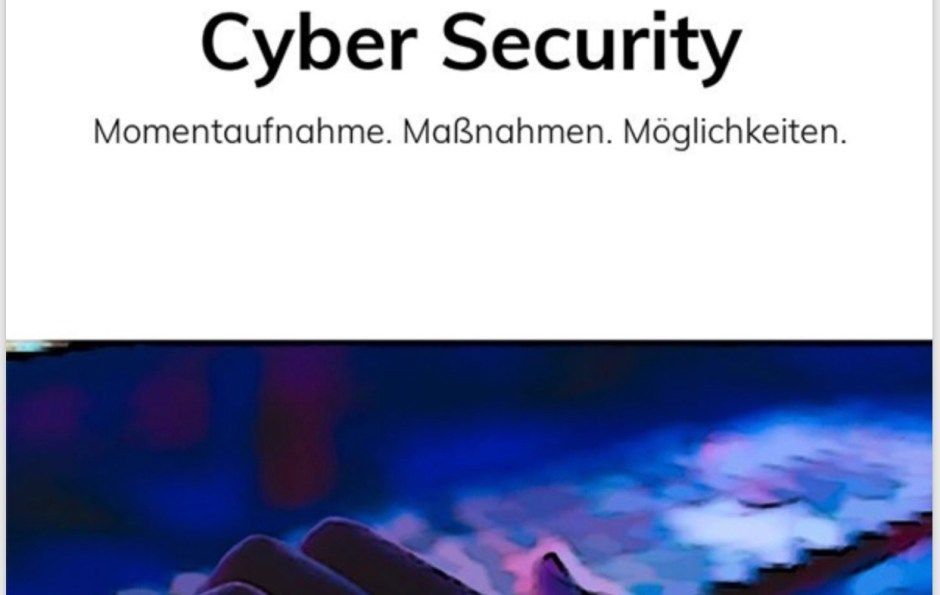 Cyber Security Buch
