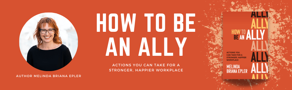 How to be an ally book cover