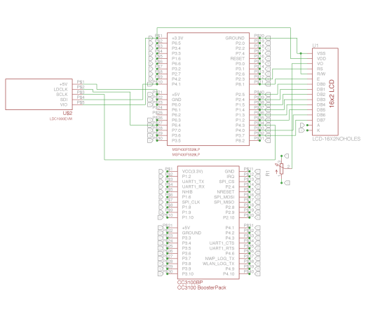 Coin Counter Schematic