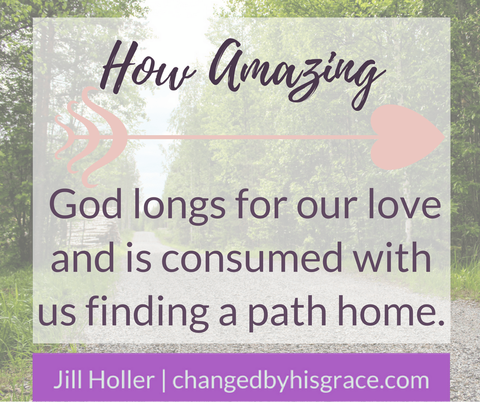 A daughter's reflection on how the love of her father and the unexpected gift of grace led her home to her heavenly Father. Grace