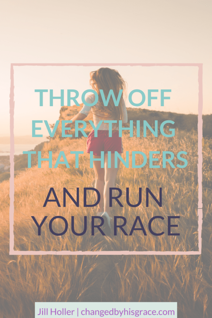 Learn to embrace a life of victory through Jesus Christ. Run with perseverance the race marked out for you, and live each day with purpose. Throw off everything that hinders and Run Your Race #Perseverance #Victory