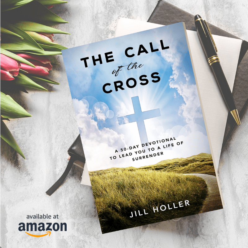 "Book cover of The Call of the Cross with text ""Available on Amazon"""