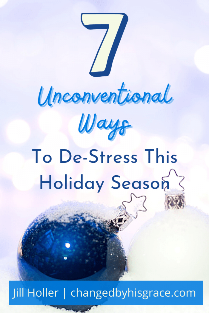 7 Unconventional Ways to De-Stress This Holiday Season