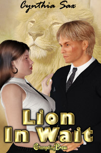 Lion in Wait by Cynthia  Sax