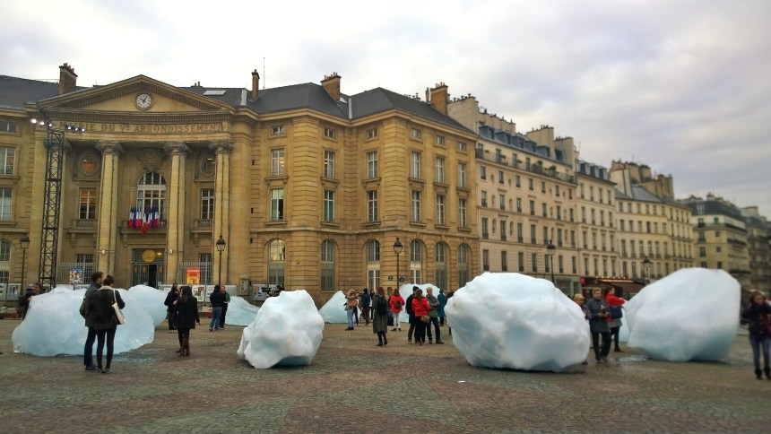 Ice watch, Paris, 03/12/15