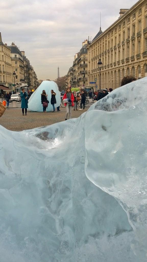 Ice watch, Place du Panthéon, 03/12/15