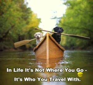 who you travel with