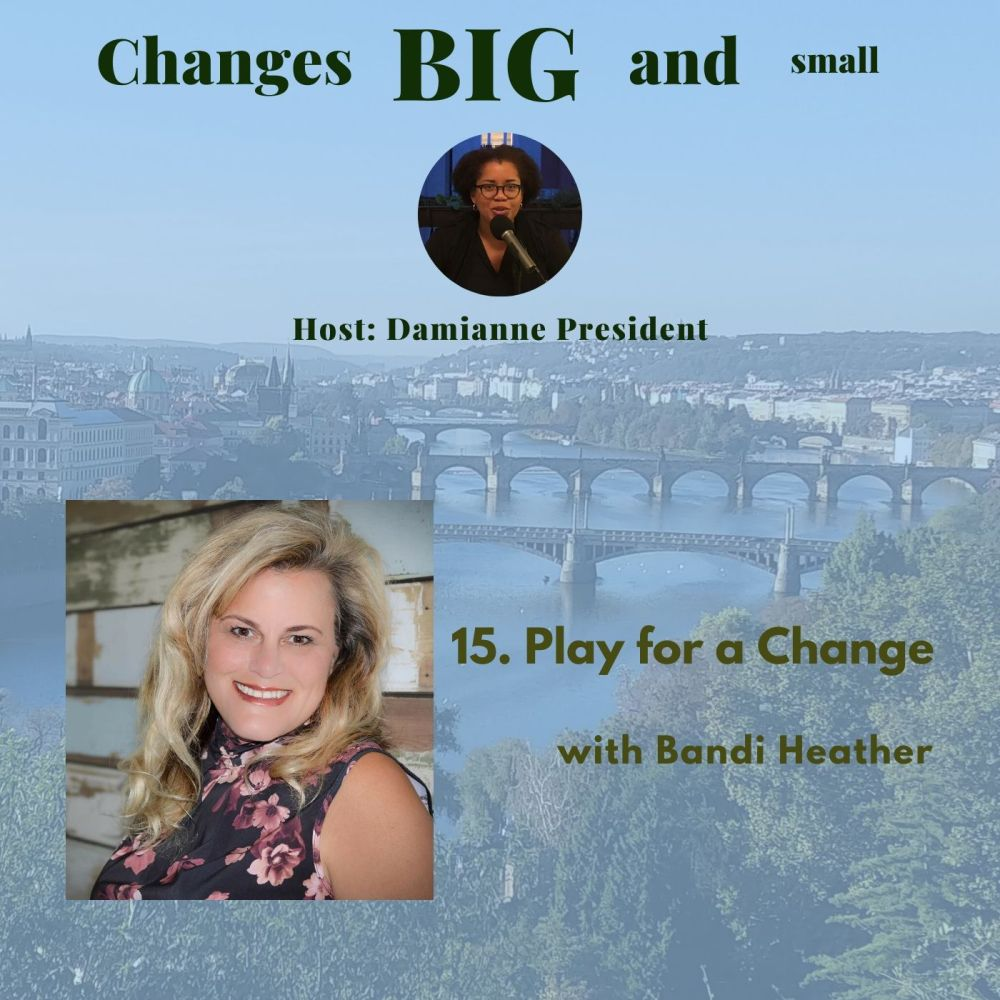 Episode 15 Cover Art - Interview with Brandi Heather - Play for a Change