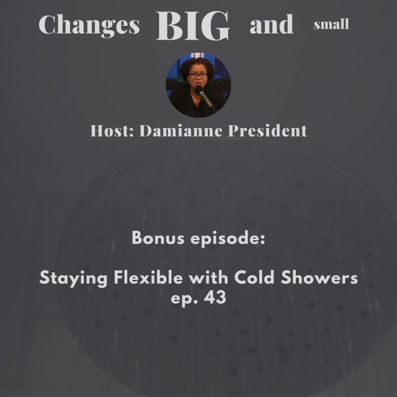 cover image for episode 43 on cold showers