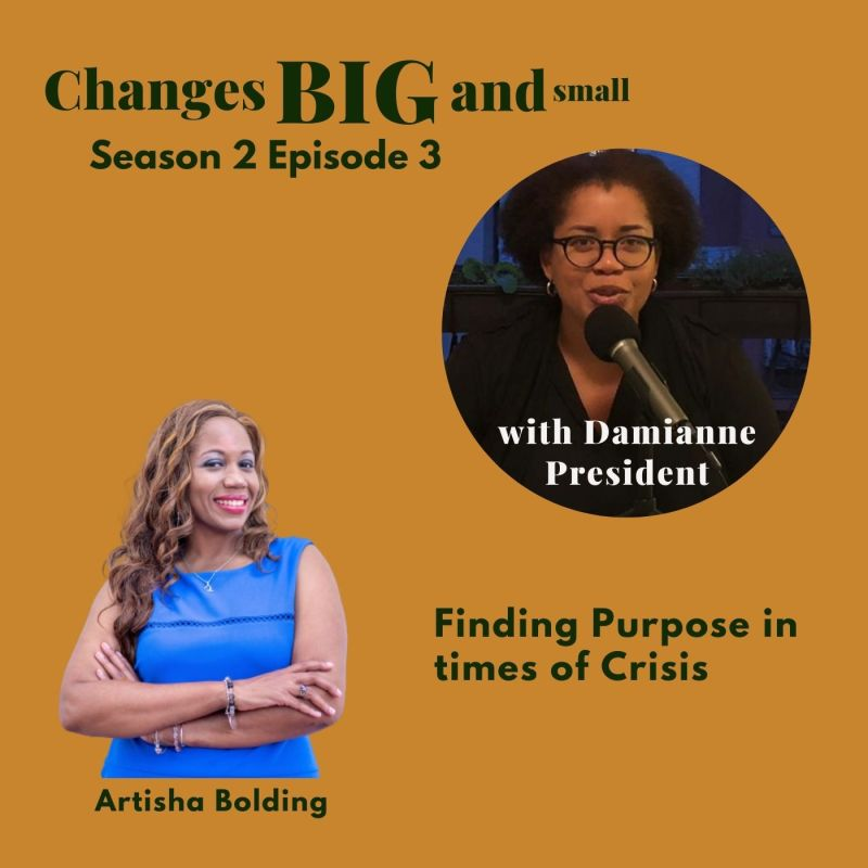 cover art for Changes BIG and small episode 46 with Artisha Bolding