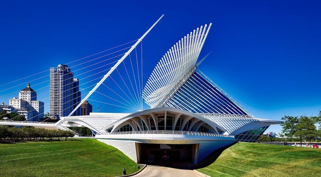 The Calatrava Museum in MIlwaukee