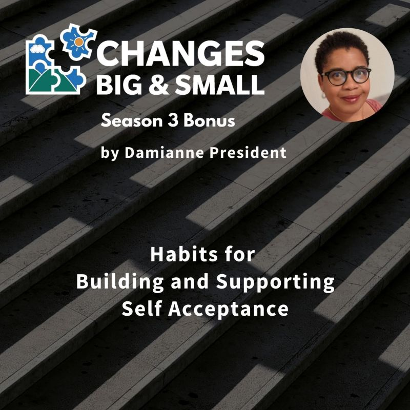 episode 86 cover art Habits for Building and Supporting Self Acceptance