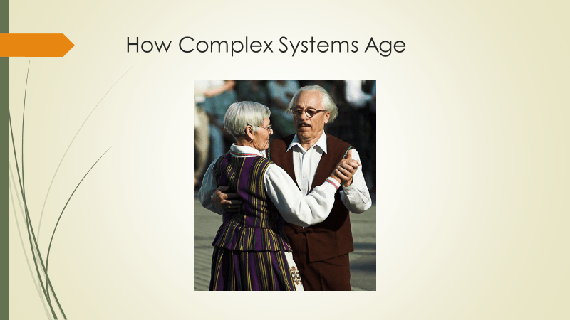 elderly couple dancing in vaguely European Clothing