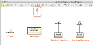 How to create Interfaces in rectangle shape   Astah in 5min