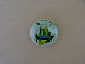 Small 'Keep it Green' Pin. 8,000 VND (order 10 or more for 5,000 VND each)