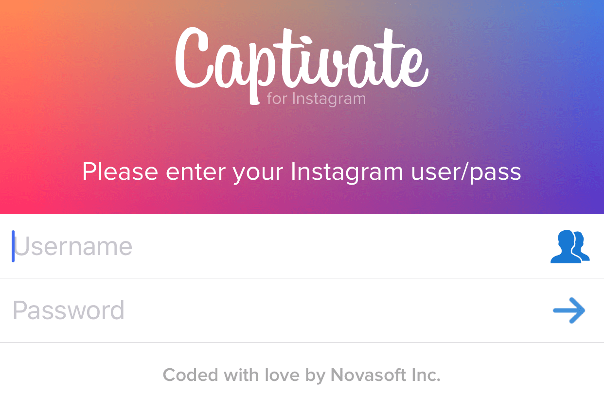 How to increase followers on Instagram with Captivate