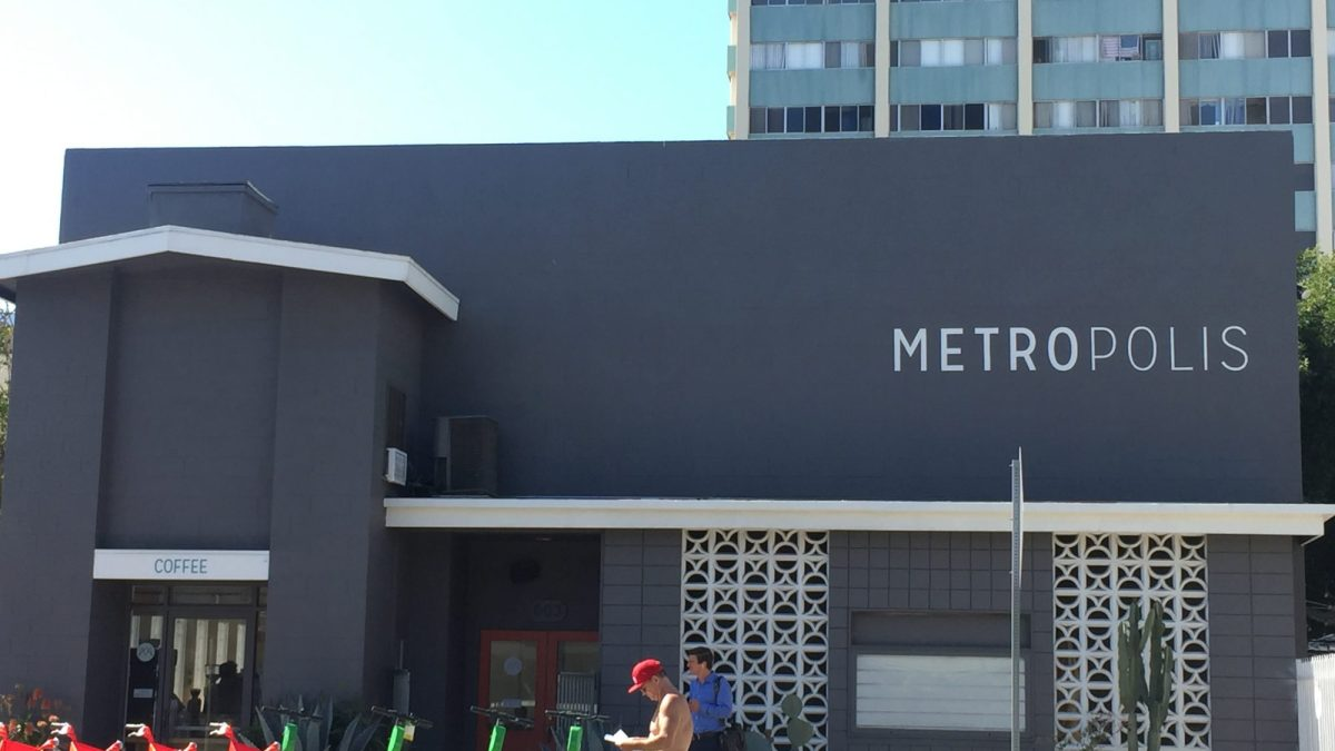 Metro Cafe front