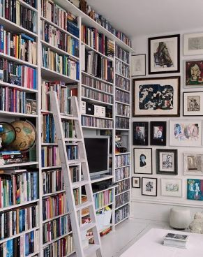 Books and frames