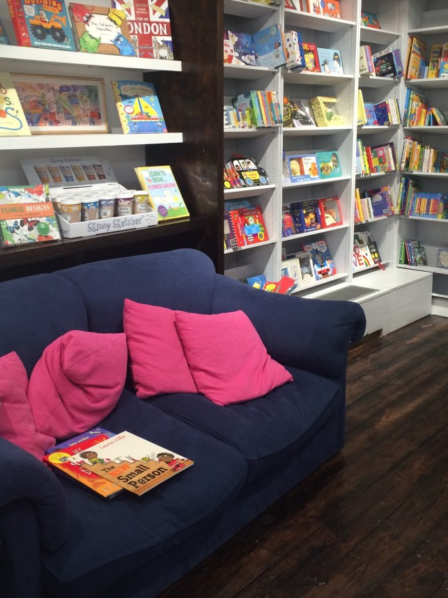 Children's Book Section | Beautiful Book Shops #8: Nomad Books, Fulham | Changing Pages | BL | Black Lion Journal | Black Lion