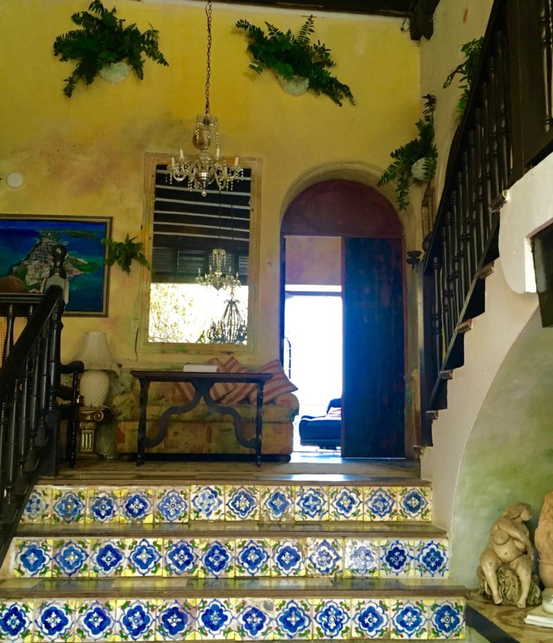 Entrance to The Gallery Inn, Puetro Rico | Letters from abroad: Puerto Rico and Old San Juan | Changing Pages #Travel #Photography | BL | Black Lion Journal | Black Lion