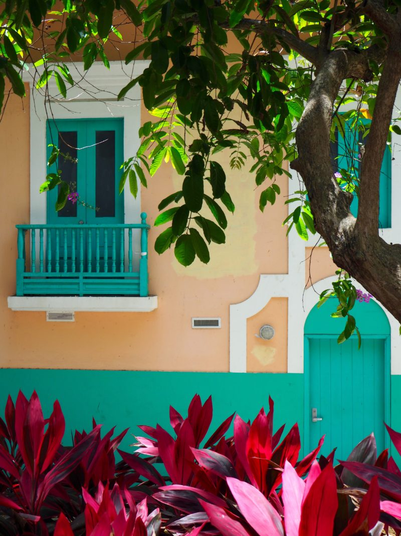 Window facade over looking the street in Old San Juan, Puerto Rico | Letters from abroad: Puerto Rico and Old San Juan | Changing Pages #Travel #Photography | BL | Black Lion Journal | Black Lion