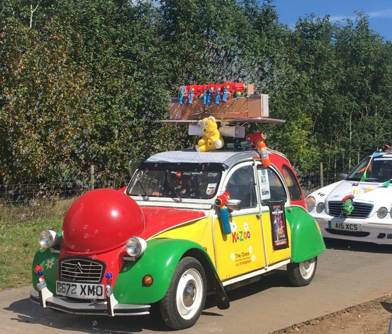 carfest 2017 clown car