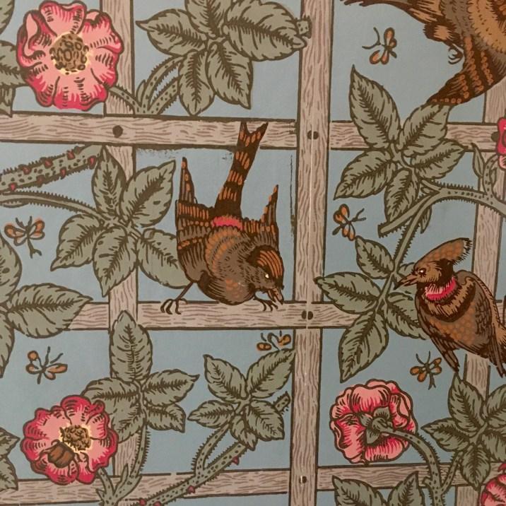 William Morris first wallpaper design