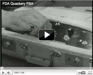FDA Quackery PSA