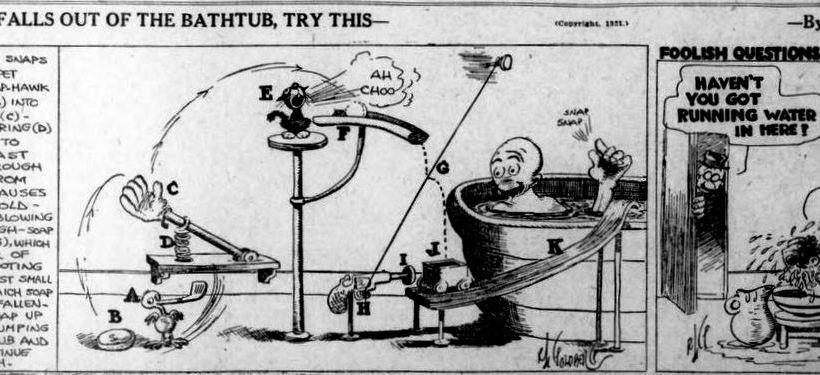 Rube Goldberg - ChangingAging 1
