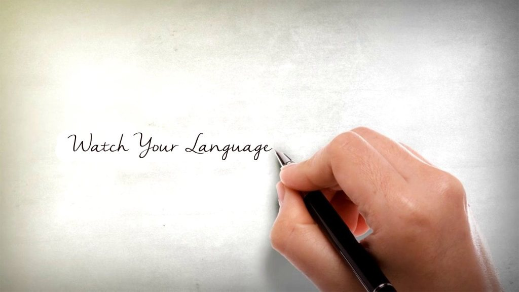 A Plea to Regulators and Consultants: Watch Your Language!