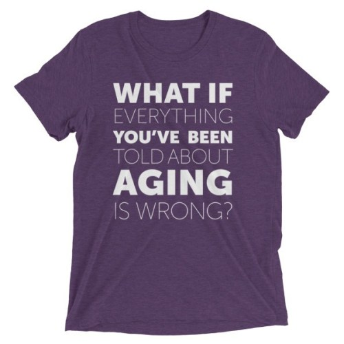 """What If?"" T-Shirt - ChangingAging 3"