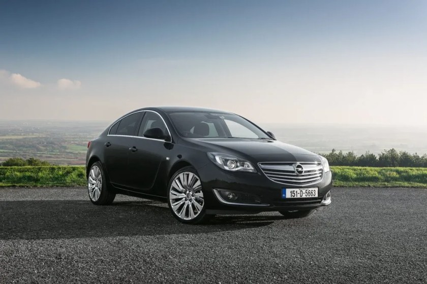 The first generation Opel Insignia (2009-2017)