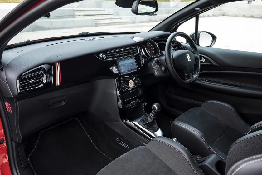 The interior of the DS3