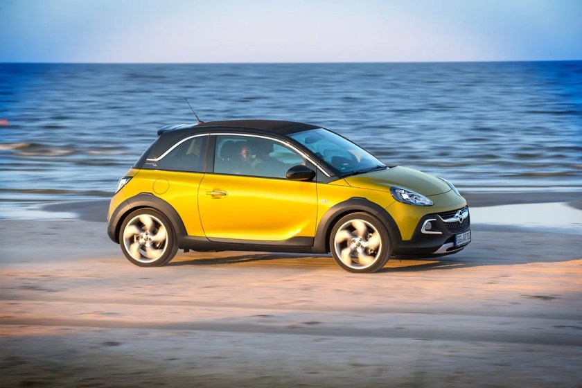 The 2015 Opel Adam Rocks is available with a fabulous 1.-0 litre petrol engine