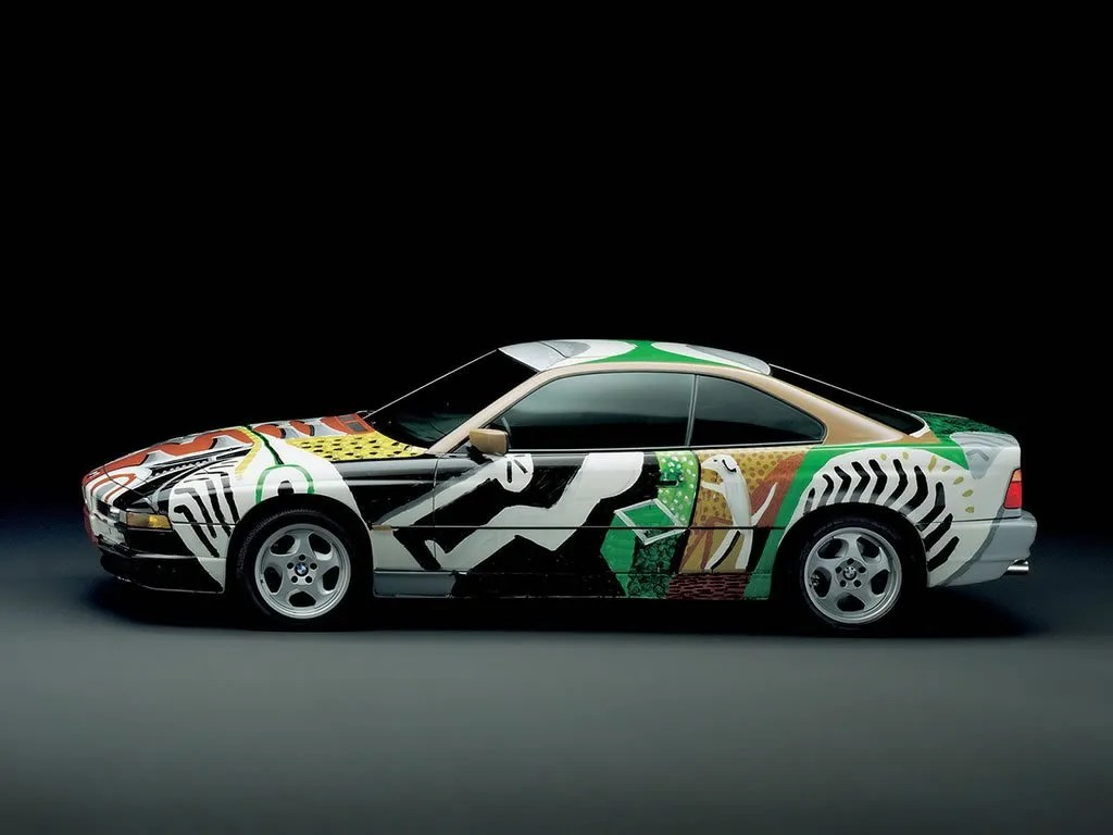 David Hockney BMW Art Car
